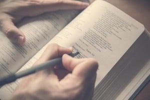 26291_Writing_in_Bible
