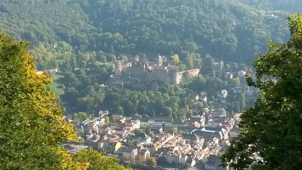 Heidelberg von oben