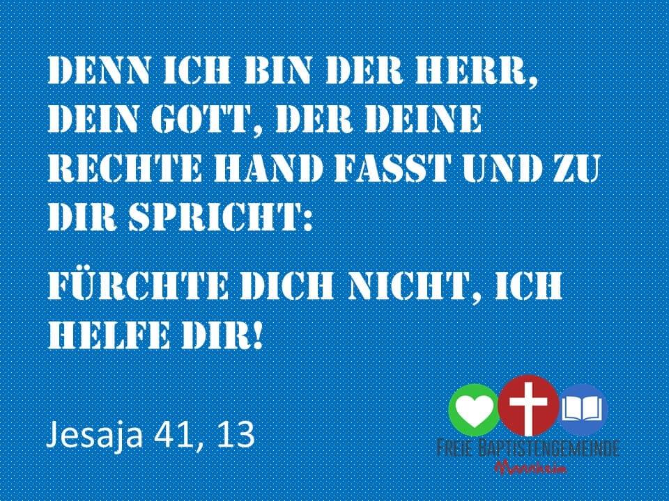 Jesaja 41,13