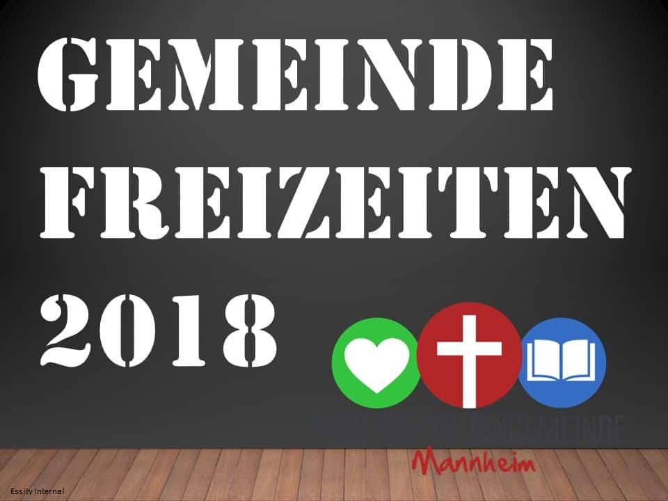 Gemeindefreizeit2018