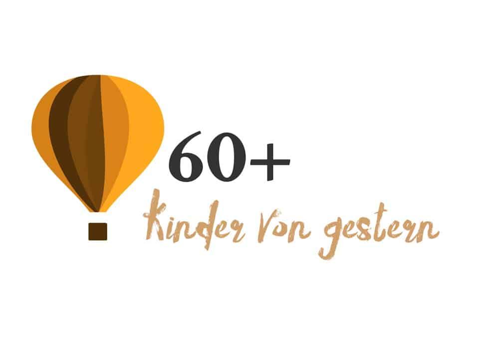 60+ Kinder von gestern Einladung