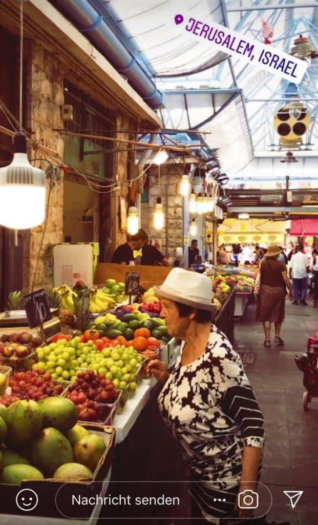 Jüdischer Markt Jerusalem