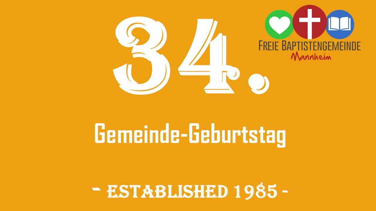 34 Jahre Happy Birthday